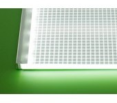 led light panels great for illuminating posters and backlighting graphics.