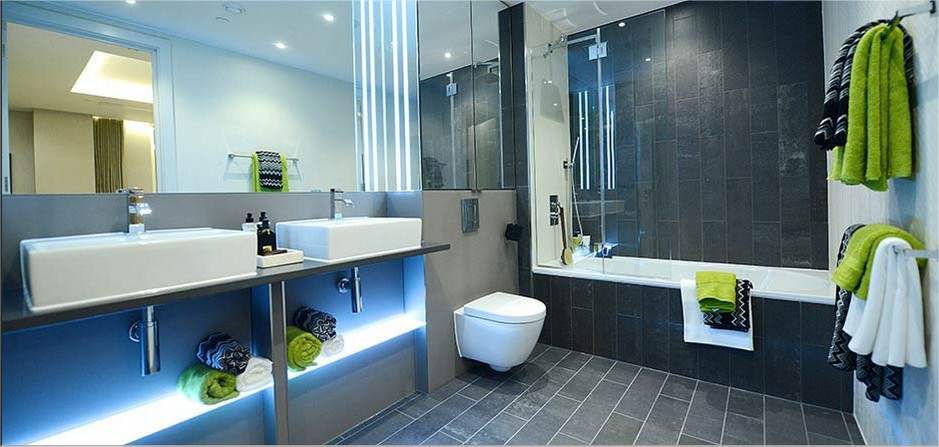 Led Bathroom Lighting Designs Mirrors Shelves Cove Bath
